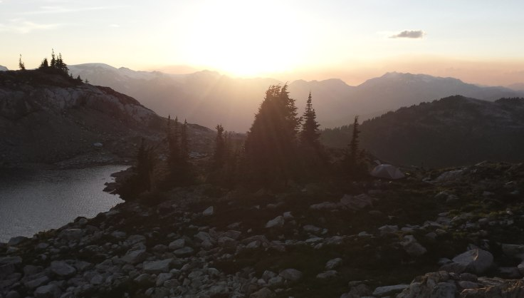 Ridge-top camping