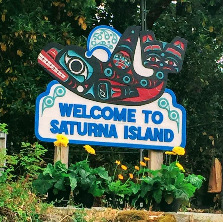 Bikepacking on Saturna Island